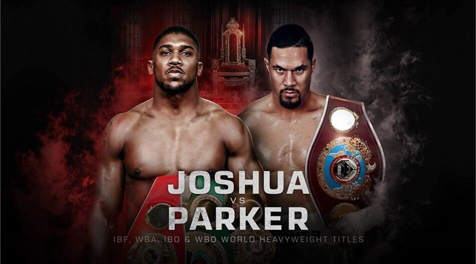 Anthony Joshua vs Joseph Parker 2018