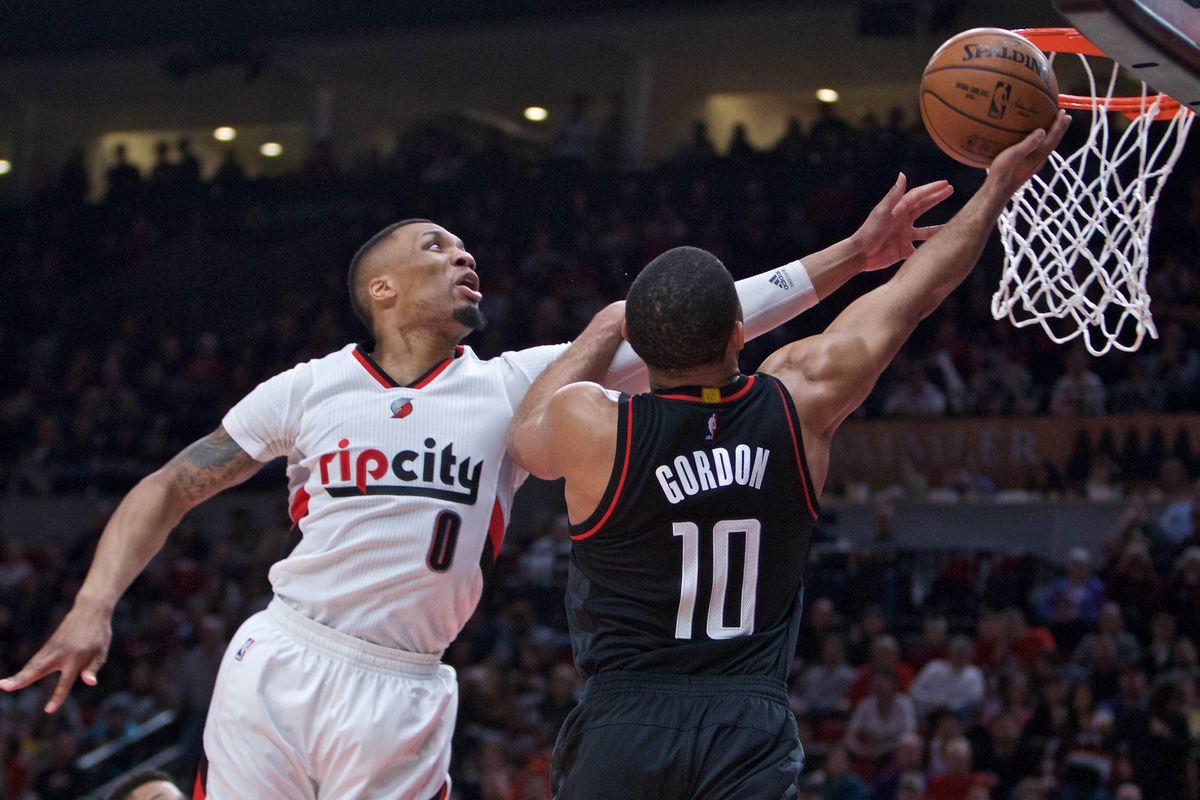 Portland Trail Blazer vs. Houston Rockets Basketball