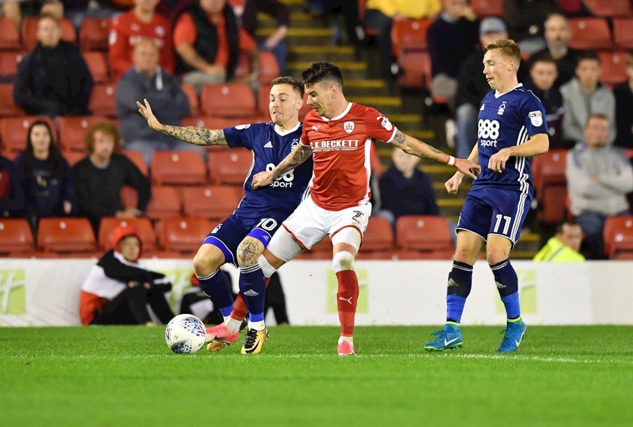 Championship Nottingham vs Barnsley