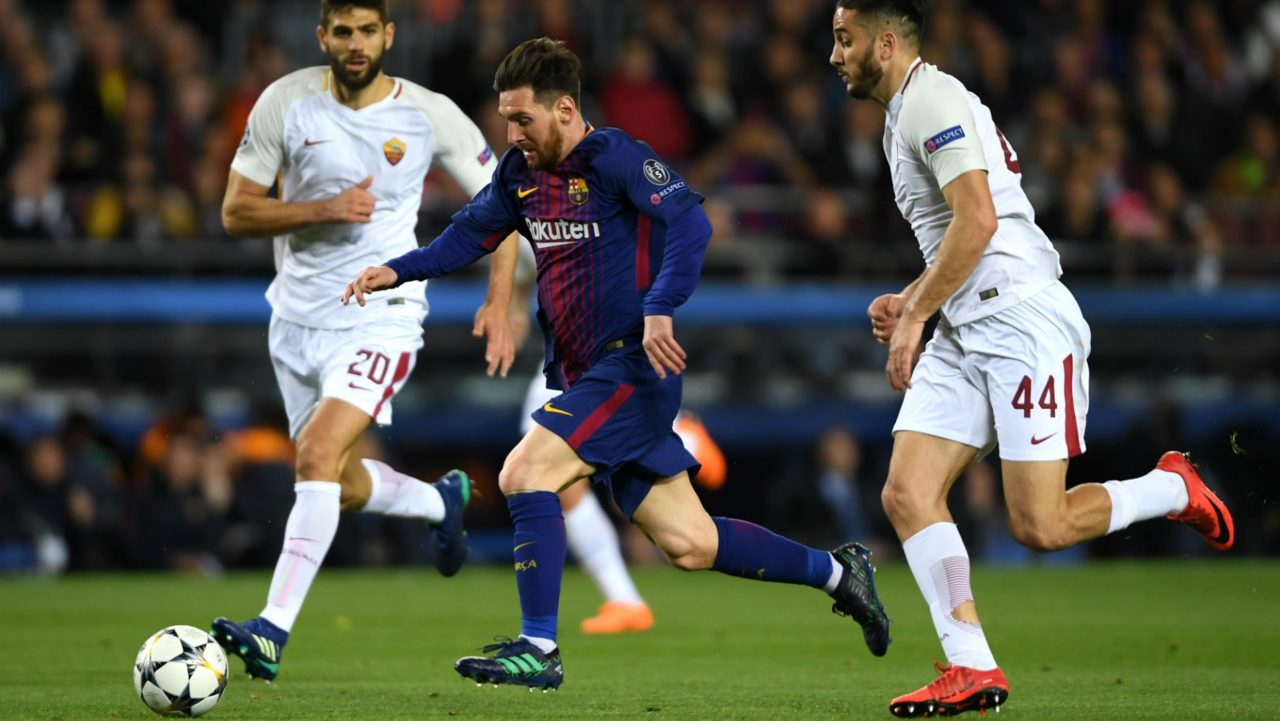 Roma vs Barcelona Champions League
