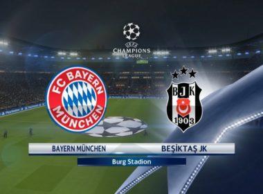 Bayern vs Besiktas Champions League