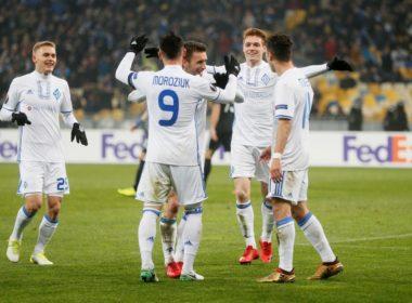 Dynamo Kiev vs AEK UEFA Europa League