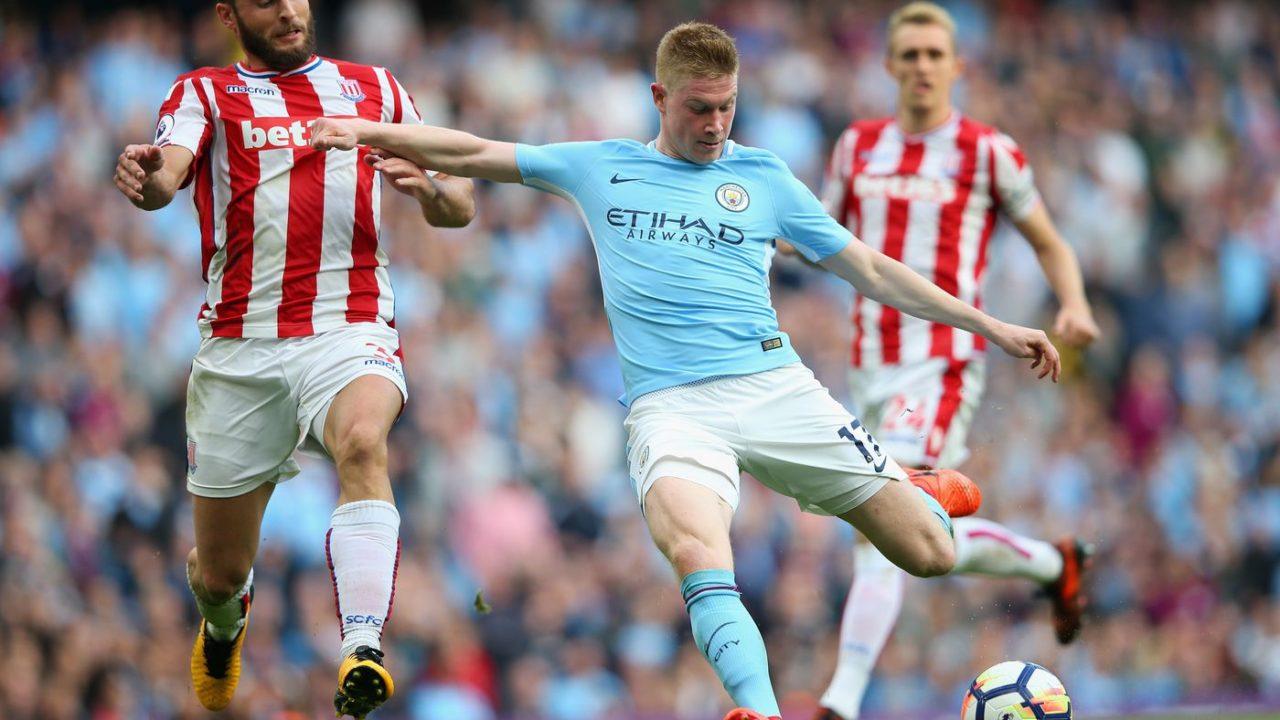 Manchester City vs Stoke - Premier League