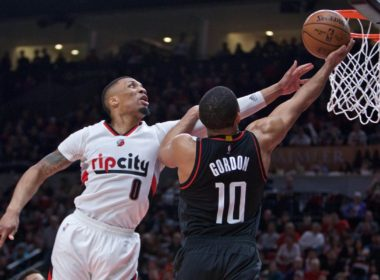 Portland Trail Blazer vs. Houston Rockets Basketball