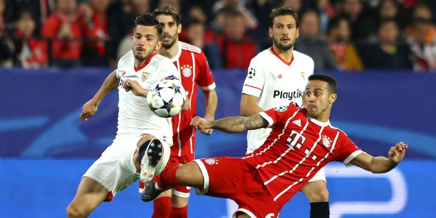 Champions League Bayern vs Sevilla