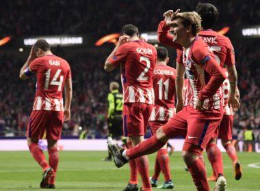 Sporting vs Atletico de Madrid Europa League