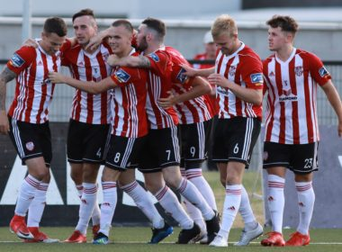 Europa League Derry City vs Dinamo Minsk