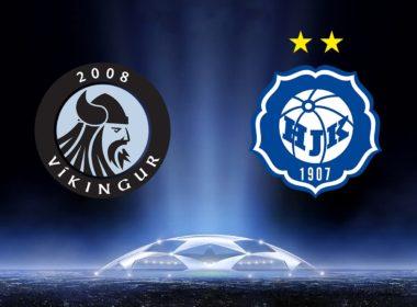 HJK vs Vikingur Champions League