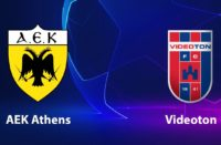 Champions League AEK vs Videoton