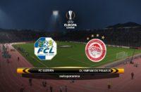 Europa League Luzern vs Olympiakos
