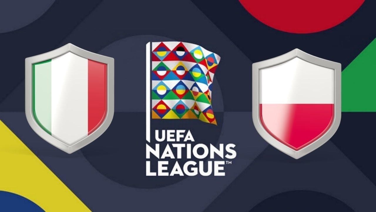 UEFA Nations League Italy vs Poland