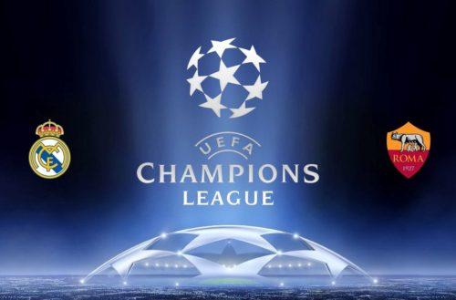Champions League Real Madrid vs Roma