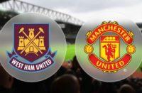Premier League West Ham vs Manchester United