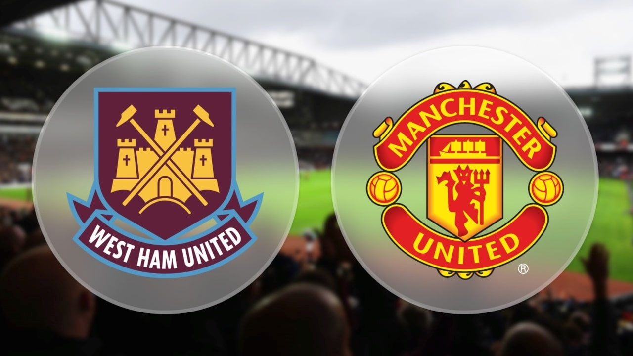 Image result for west ham vs man united