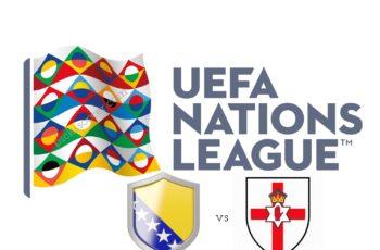 UEFA Nations League Bosnia vs Northern Ireland