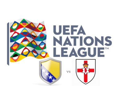UEFA Nations League Bosnia vs Northern Ireland