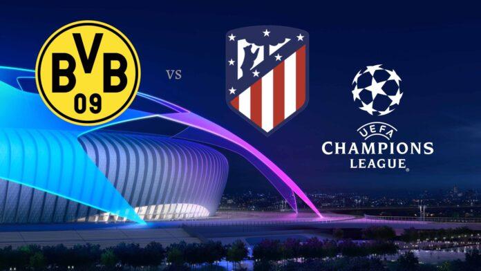 Dortmund vs Atletico Madrid Champions League