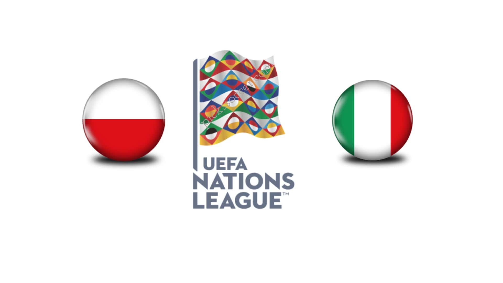UEFA Nations League Poland vs Italy