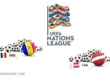 Andorra vs Latvia UEFA Nations League