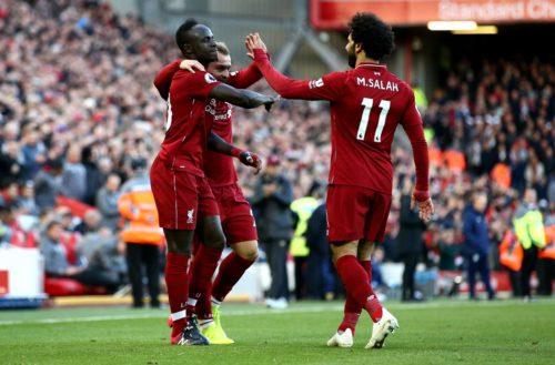 Liverpool vs Fulham Premier League