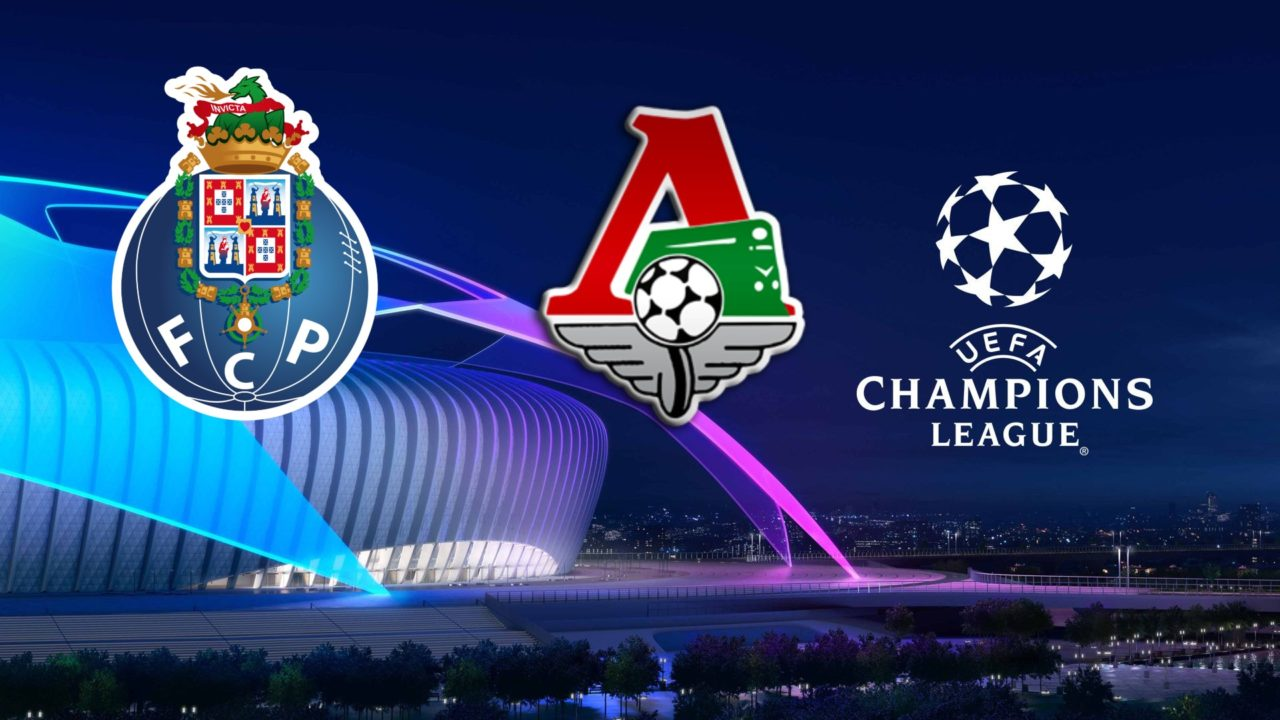 Porto vs Lokomotiv Moscow Champions League