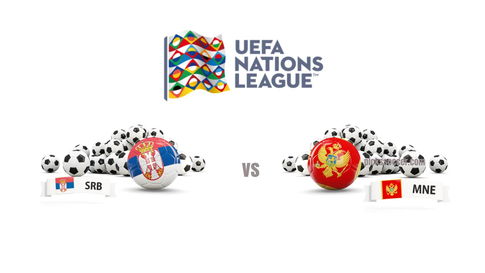 Serbia vs Montenegro UEFA Nations League