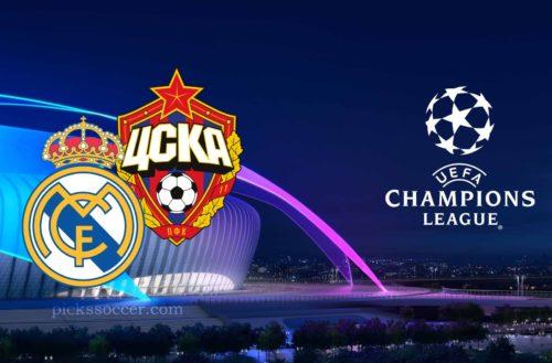 Real Madrid vs CSKA Champions League