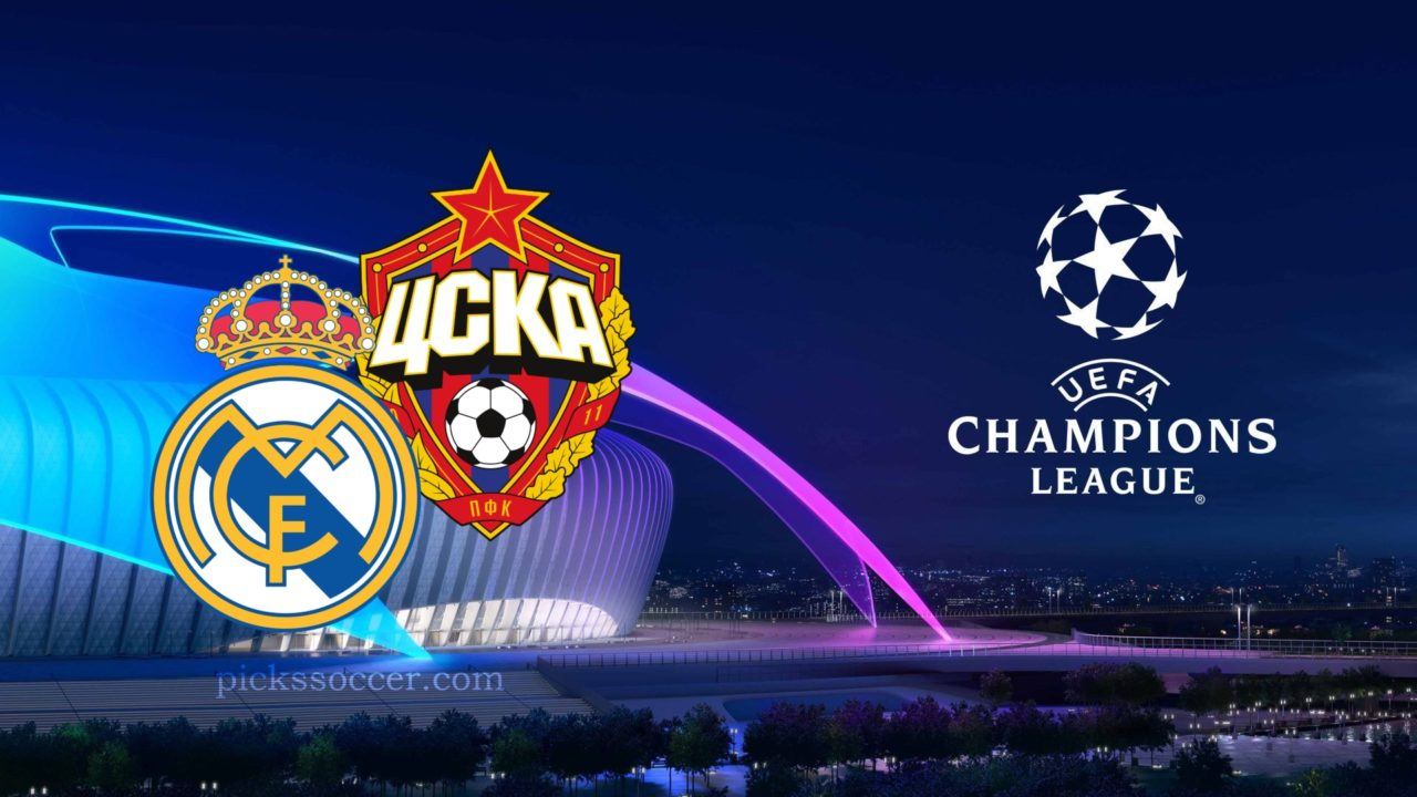 Real Madrid vs CSKA Champions League