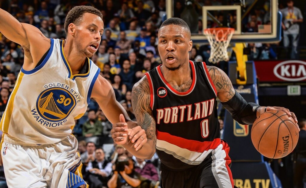 Golden state x portland
