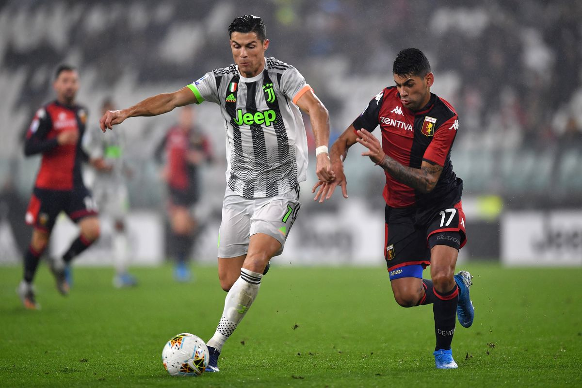 Juventus vs Genoa Juventus vs. Genoa - Football Match ...